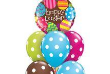 Pâques / Et si on changeait un peu cette année ? Pourquoi pas des ballons Qualatex pour Pâques?