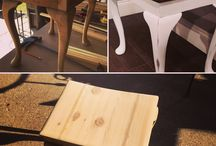 • Furniture Rehab Before and Afters • / We love seeing what others are doing to rehab their furniture!