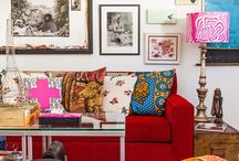 African inspired interior