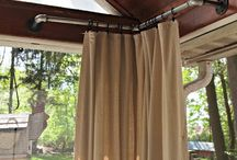 curtains porch