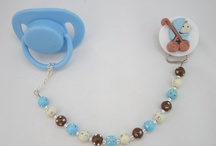 Beaded Pacifier Clips