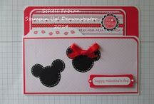 Mickey and Minnie Series 2014 / File Folder Cards
