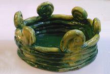 PČ - keramika a plastelína / Práce s modelovací hmotou - hnětení, válení, stlačování, přidávání, ubírání hmoty, jednoduché výrobky