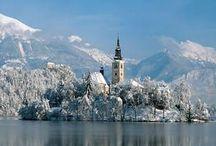 Eslovenia: Dados, historia e estatistica / Links mostram informações e estatísticas sobre o país.