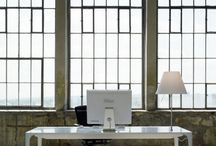 idcaption | Workspace / Design an optimal working atmosphere. Space. Light. Silence