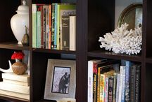 Book shelf styling ideas