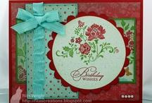 Cards Samples / by Lisa McGrew