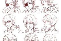 anime hair style