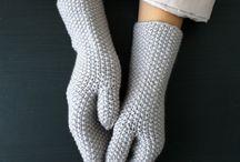 Knit Mitts / by Mirja Marshall