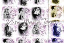 """Diseños textiles y estampas """"MUJERES"""" / Diseños TEXTILES y ESTAMPAS de mujeres que hicieron historia"""