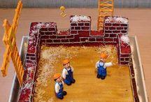 торт Строительство