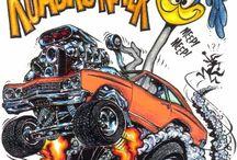car cartoon art RD