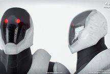 """AVANT / L'équipe du film """"Avant"""" de Arthur Tabuteau vous présente le design du robot selon un concept de Naythero Cosplay ; modélisation 3d de Richard Tatessian - Infographie 3D  N'oubliez pas de passer sur la page ulule! Merci!  http://fr.ulule.com/avant/"""