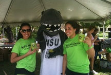Razor the Shark - NSU's Mascot
