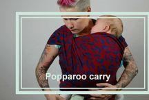 baby wearing size 5 wrap