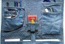 Jeans / Denim D.I.Y / Alles maken van oude spijkerbroeken