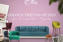Colour trends for 2018 / #emotionalbrands #ottiu #luxuryhomefurniture #luxuryfurniture #topluxurybrands #interiordesign #interiorstyle #contemporary #modern #archiquecture #inspirationbuilding #modernbuilding #colourstrends #trends #fashiontrends #trends2018 #inspirationideas