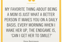 "The Love Quotes Celebrity Quotes : Celebrity Quote: ""My favorite thing about being a mom is just what a better…"