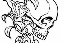Tattoo scull