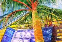 Feelin' Coastal / Art of the sun and soul for your happy place created by visionary artist Kandy Cross