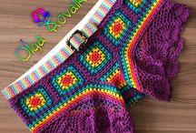 Шортики крючком / Crochet shorts