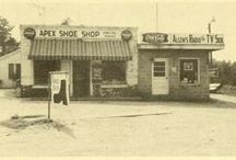 Back in the Day-pex / Historical photos of Apex, NC