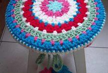 banqueta crochet