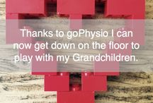 My Physio helped me………..
