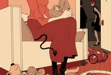 Illustration / Images and authors that inspire me
