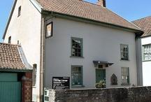 Nether Stowey, Somerset / Coleridge Cottage, tea rooms, Cricketer Farm Shop