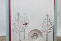 Stampin Up! Christmas '15 / Mostly Stampin Up cards