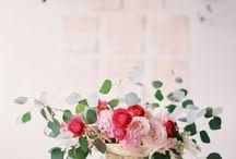 Flower arrangements/centerpieces