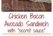 Burgers, Wraps & Sandwiches