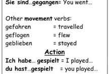 German grammar - past tense