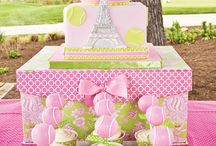 "Kids Party, Girls / Adorable parties for girls ... ""Fairy Tale Party"" & ""Ballerina Cake & Party"" on seperate boards."