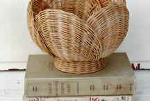 Хотелки / плетение из газетных трубочек