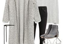 Pletené kabáty // knitted coats
