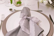 [INSPIRATION] Wedding napkins
