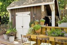 Greenhouses / outdoor spaces / Pictures and/ or plans of them