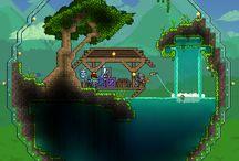 Cool domy do Terrarie