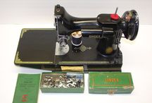 Antique Sewing Machines and Accessories / by Sydnee Watson