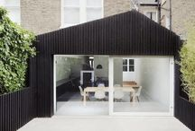 Houses-Extensions / Contemporary extensions to existing houses