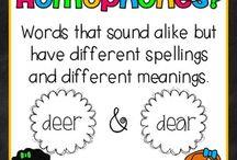 homophone/spelling