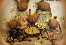 Primitive Easter & Rabbits