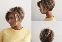 Midi Short hairstyle