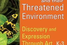Amphibian Education + Art Curriculum K-3 / #Frogs, #Amphibians, and Their Threatened #Environment - Discovery and Expression Through Art – K-3 164 Pages with more than 75 amazing photographs. by Susan Newman, founder, Frogs Are Green  Children in K-3 are introduced to frogs, amphibians and the world that surrounds them. #teaching #curriculum #biodiversity #TPT