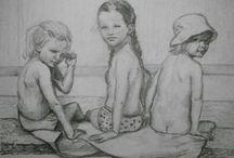 moje malování a kreslení