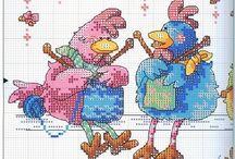 kippen handwerken