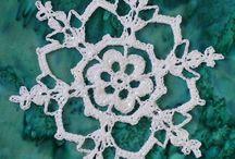 Crochet~Doillys,  Snowflakes & Butterfly's / by Wilma Gardien-Hans