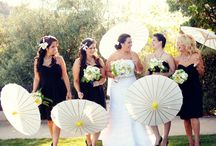 Wedding: All white, All black / by Sharon's Bridal